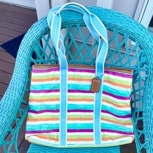 Extra Large Coach Beach Colorful Purse
